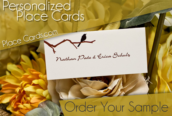 Place Cards | Wedding Place Cards